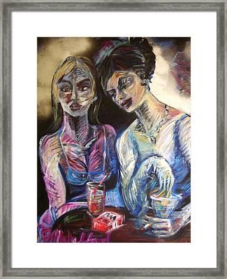 The Secret Framed Print by Jenni Walford