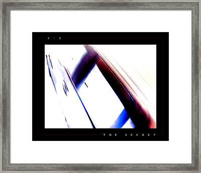 The Secret Framed Print by Jonathan Ellis Keys
