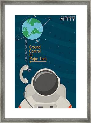 The Secret Life Of Walter Mitty Framed Print by Farhad Tamim