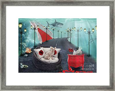The Secret.. Framed Print by Prar Kulasekara