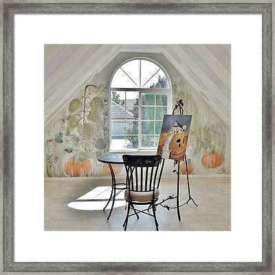 The Secret Room Framed Print by Lisa Kaiser