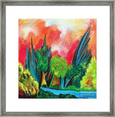 The Secret Stream Framed Print