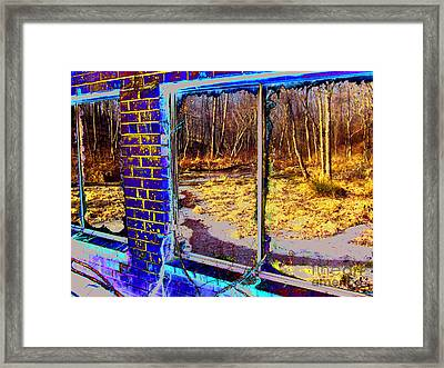 The Secret Window Framed Print