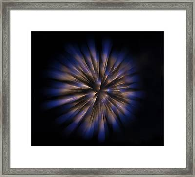 The Seed Of A New Idea Framed Print
