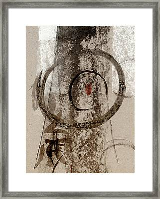 The Seed Within Framed Print by Carol Leigh