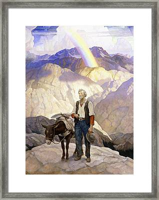 The Seeker Framed Print by Newell Convers Wyeth