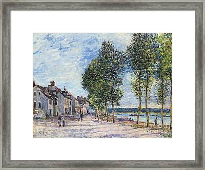 The Seine  Framed Print by Celestial Images