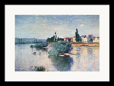 River Banks Framed Prints