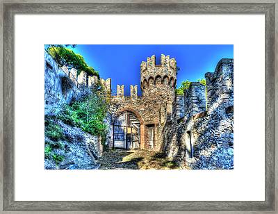 The Senator Castle - Il Castello Del Senatore Framed Print