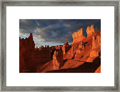 The Sentinel At Bryce Canyon Framed Print