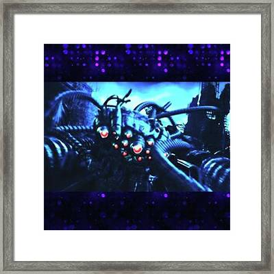 The Sentinel From the Matrix. The Framed Print