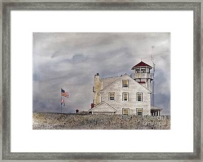 The Sentinel Framed Print by Monte Toon