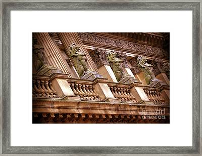 Framed Print featuring the photograph The Sentinels by Baggieoldboy