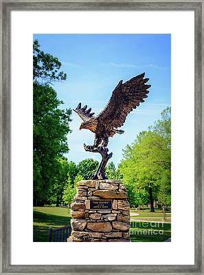 The Sentry At Honor Heights Park Framed Print