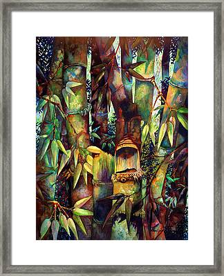 The Sentry Framed Print by Monica Linville