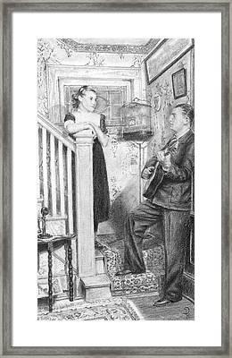 The Serenade Framed Print by Douglas Kochanski