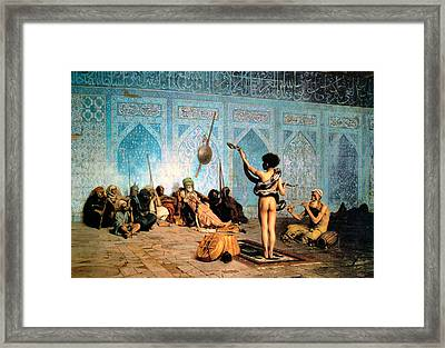 The Serpent Charmer Framed Print by Jean Leon Gerome