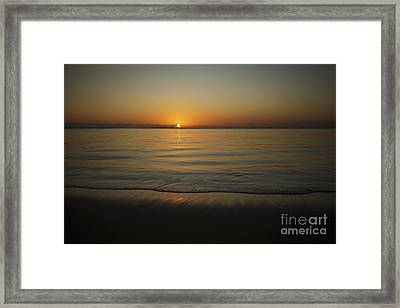 The Setting Sun Framed Print by Brandon Tabiolo - Printscapes