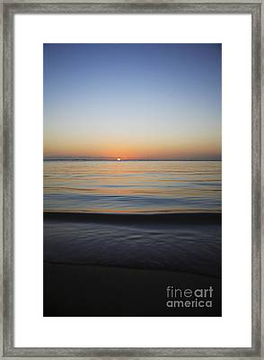 The Setting Sun II Framed Print by Brandon Tabiolo - Printscapes