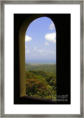 The Seven Seas Puerto Rico Framed Print by Charlene Cox