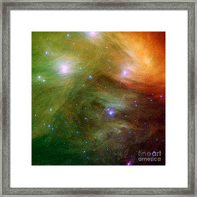 The Seven Sister / Pleiades Framed Print