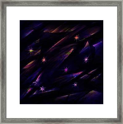 The Seven Stars Framed Print