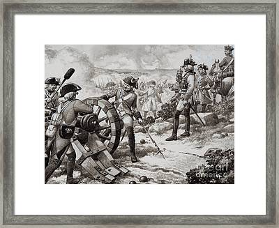 The Seven Years' War Framed Print by Pat Nicolle