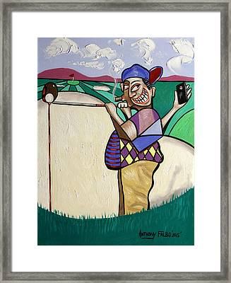 The Seventh Hole I Did It My Way Framed Print