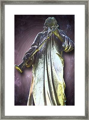 The Seventh Trumpet Framed Print