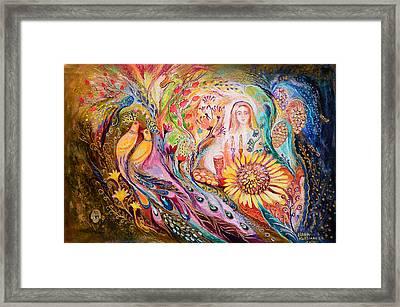 The Shabbat Queen Framed Print by Elena Kotliarker