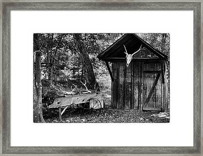 Framed Print featuring the photograph The Shack by Wade Courtney
