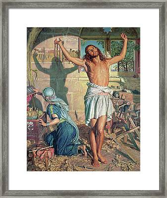 The Shadow Of Death Framed Print by William Holman Hunt