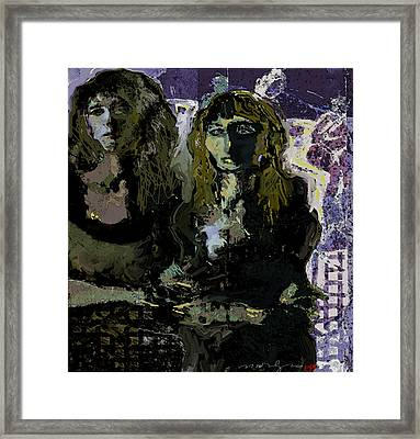 The Shadow Of Dream Framed Print by Noredin Morgan