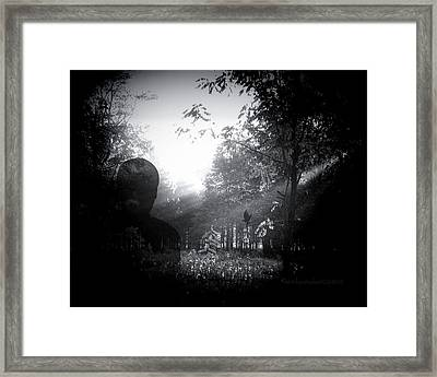 The Shadow Watcher Framed Print by Mimulux patricia no No