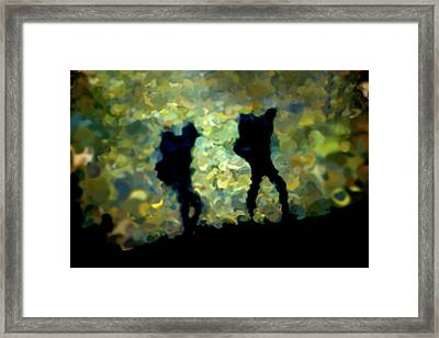The Shadowalkers Framed Print