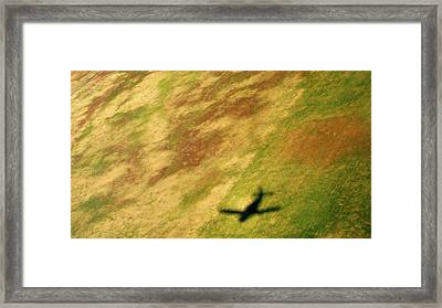 The Shadows Are Following Us Framed Print by Jennifer  Lane