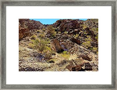 Framed Print featuring the photograph The Shafted Mine by Robert Bales