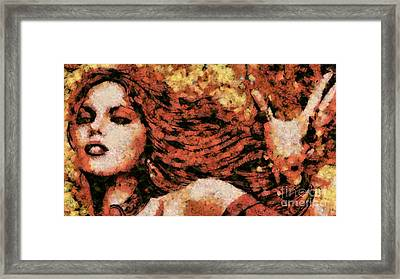 the Shaitan Framed Print