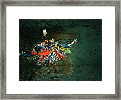 The Shaman Framed Print by Irma BACKELANT GALLERIES