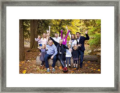 The Shand Family Framed Print by Julius Reque