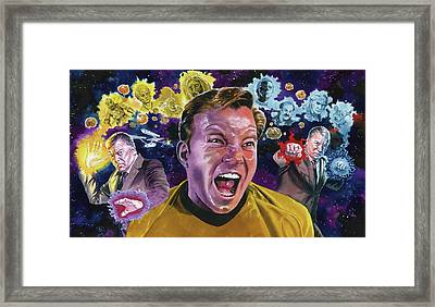 The Shat Framed Print by Ken Meyer jr