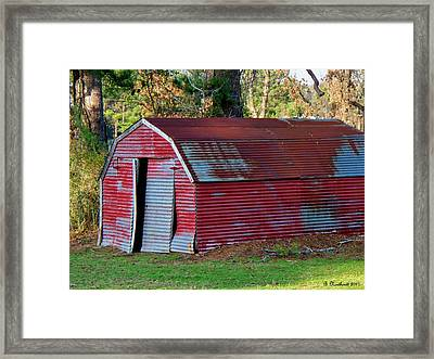 The Shed Framed Print by Betty Northcutt