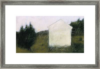 The Shed Framed Print by Ruth Sharton