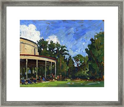 The Shed Tanglewood Framed Print