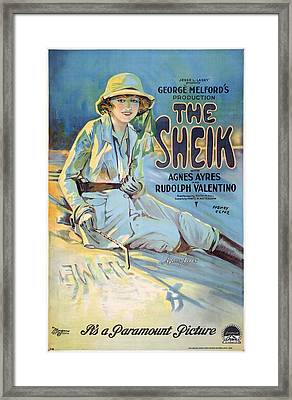 The Sheik 1921 Framed Print by Mountain Dreams