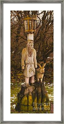 The Shepherd And Ram Framed Print