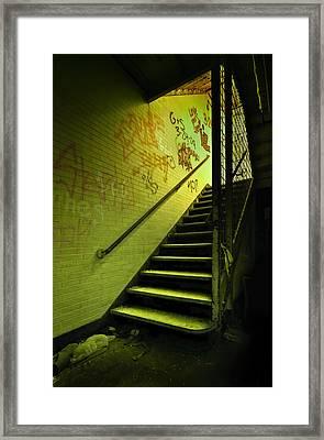 The Shining Darkness Framed Print by Evelina Kremsdorf