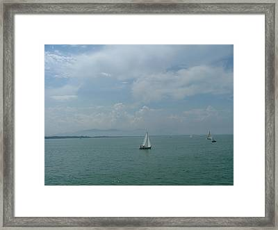 The  Ship Travell Framed Print