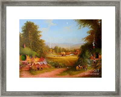 The Shire. Framed Print by Joe  Gilronan
