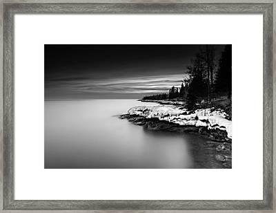 The Shore Framed Print by Mark Goodman